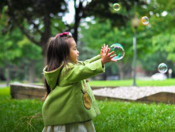 Bubble fun.